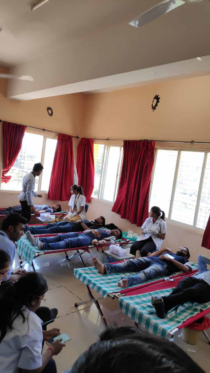 Blood donation camp – Seminar Hall, PCCOER