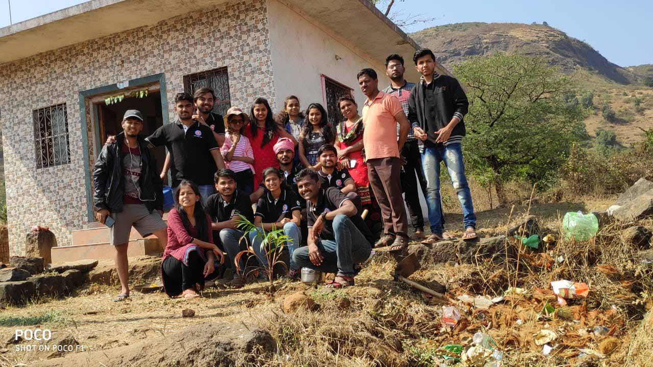 Tree Plantation at Village - Mau, Tal – Maval , Dist. - Pune